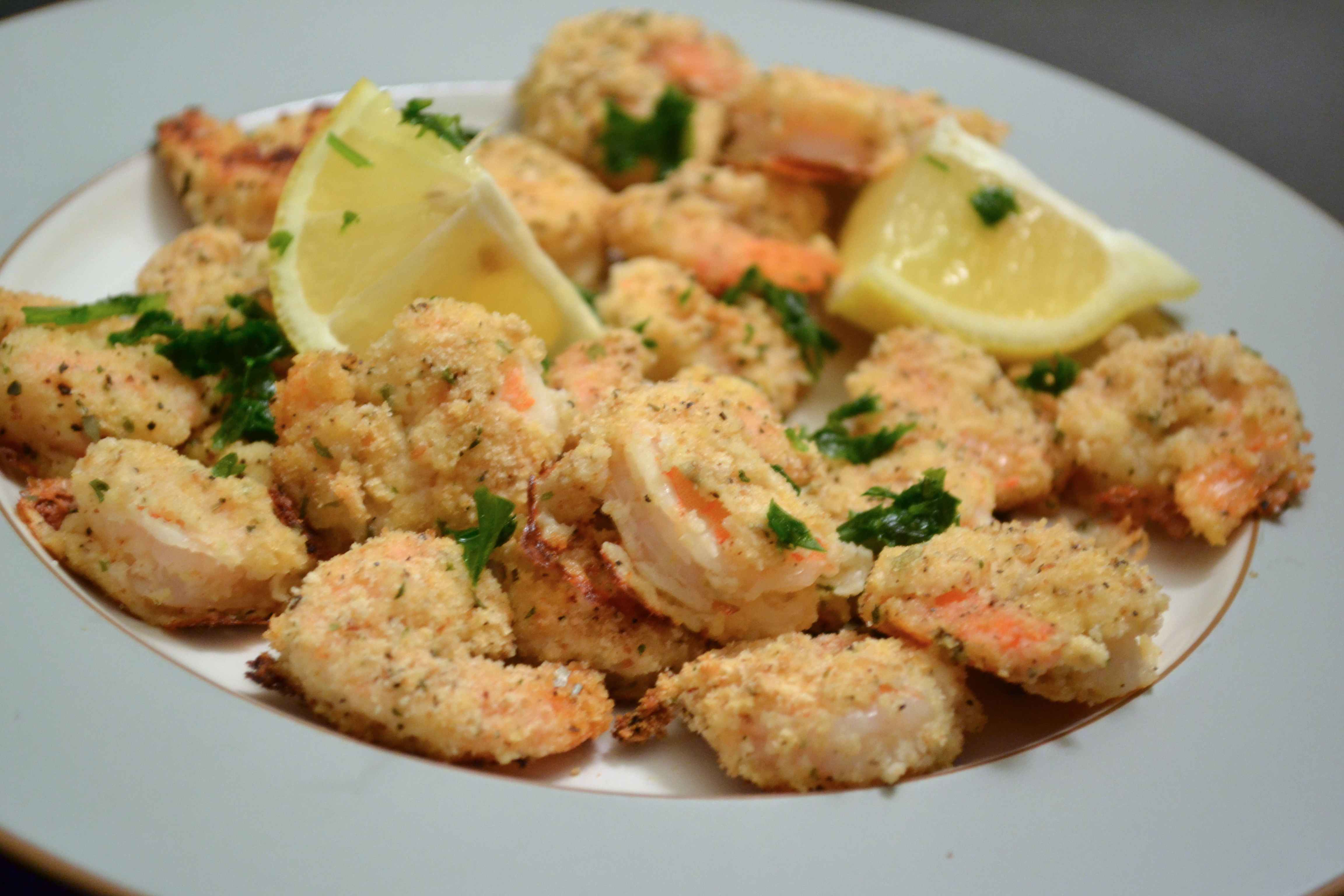 shrimp with caper lemon butter sauce slice one lemon and layer it we ...