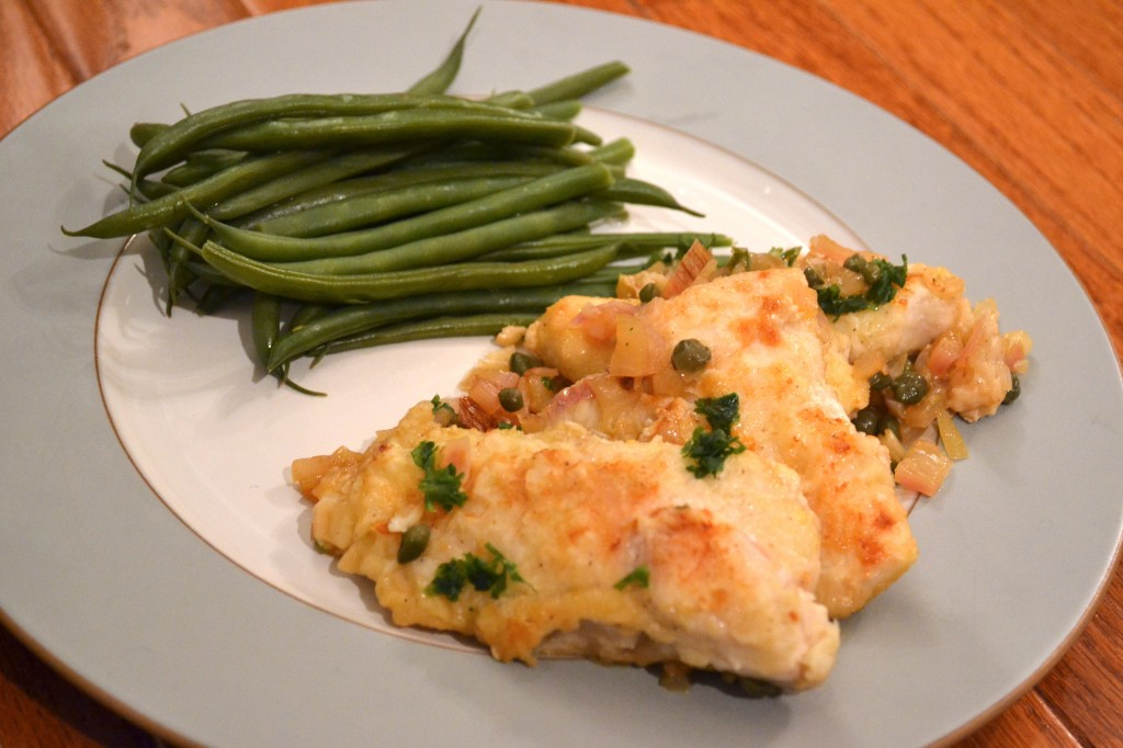 Chicken Scallopine with Lemon and Caper Sauce – Measuring Cups ...