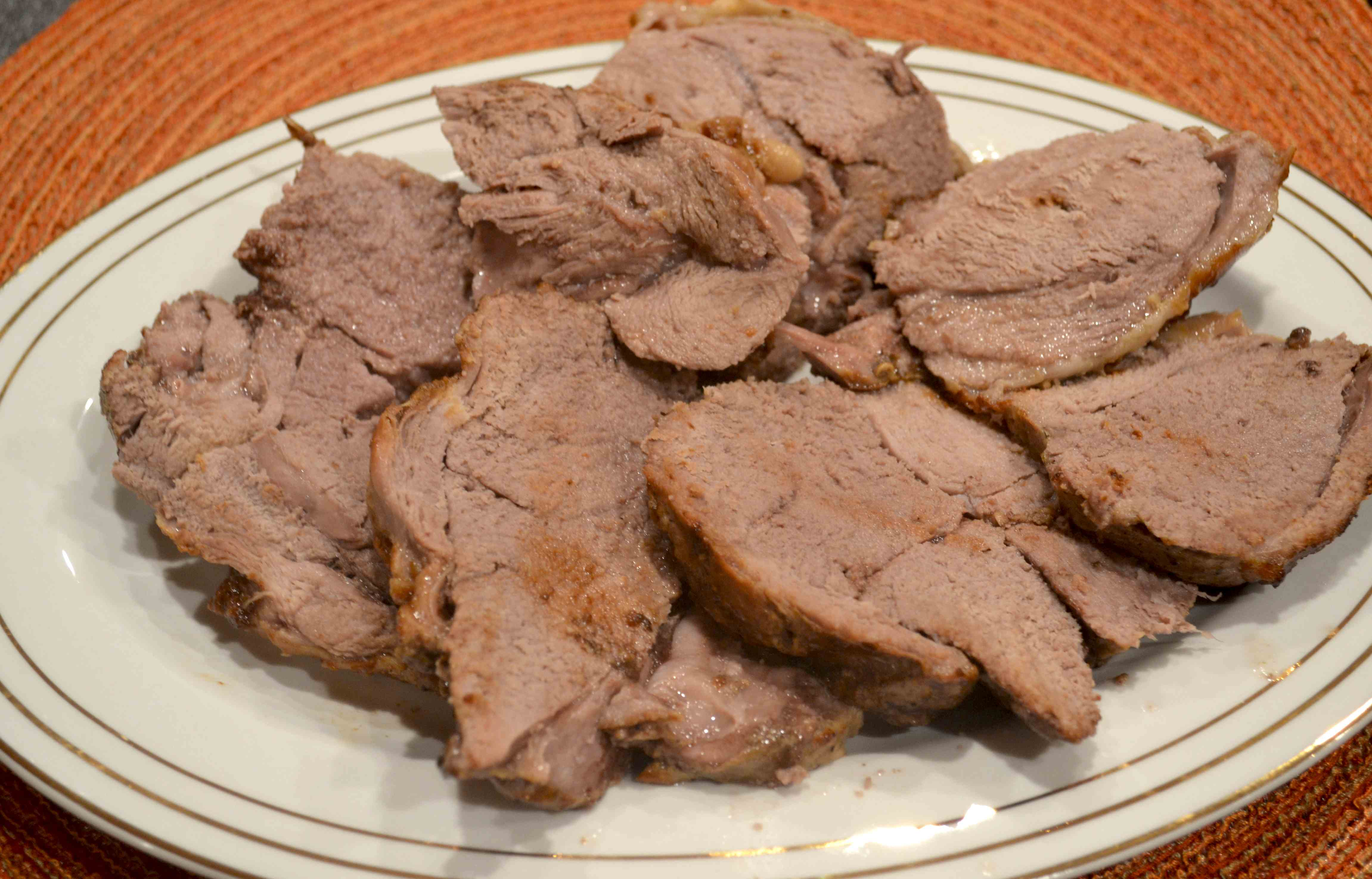 Yogurt Marinated Lamb